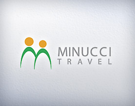 Corporate Identity / logo design: Minucci Travel